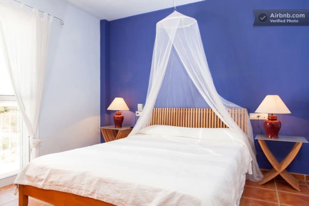 Dormitorio principal 1ª Planta