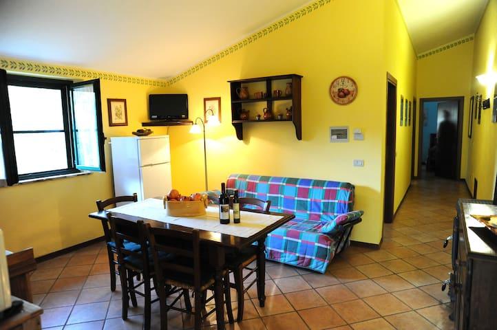 Appartamento agriturismo Umbria 5p