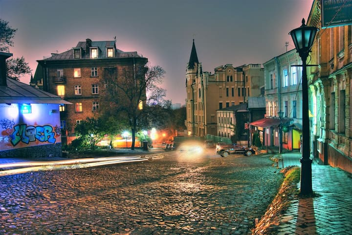 Magic apartment on Andreevskiy