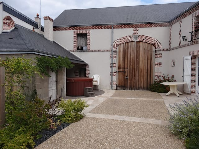Gîte 5 pers près des châteaux Loire - Lailly-en-Val - Casa