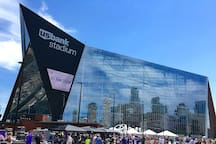 US Bank Stadium downtown Minneapolis