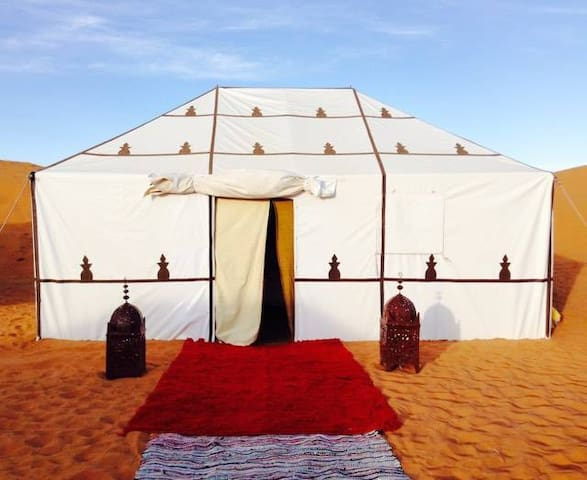 Luxury Camp Chebbi - Merzouga - Zelt