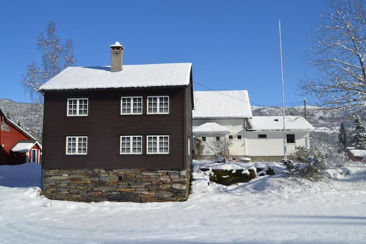 Gamlahuset -charming and idyllic old farmhouse