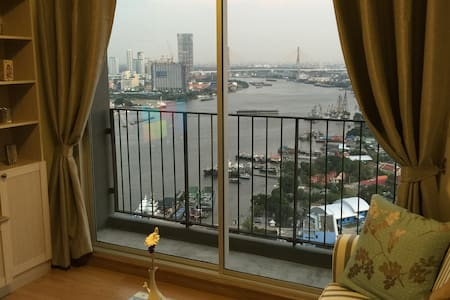 NEW, ON TOP 31st. FLOOR, 2BR STUNNING RIVER VIEW! - Bangkok