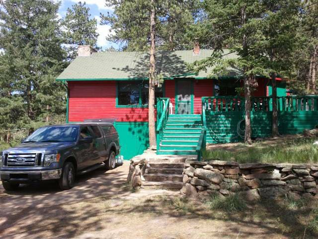 Top 20 estes park vacation cabin rentals and cottage for Estes park dog friendly cabins