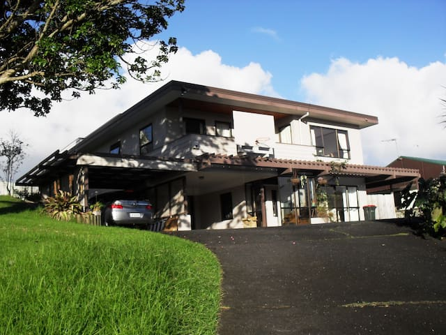 Sunny+ garden single room - Auckland - Bed & Breakfast