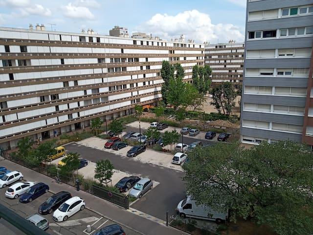 Bel appartement T2 40m2 vers la part dieu