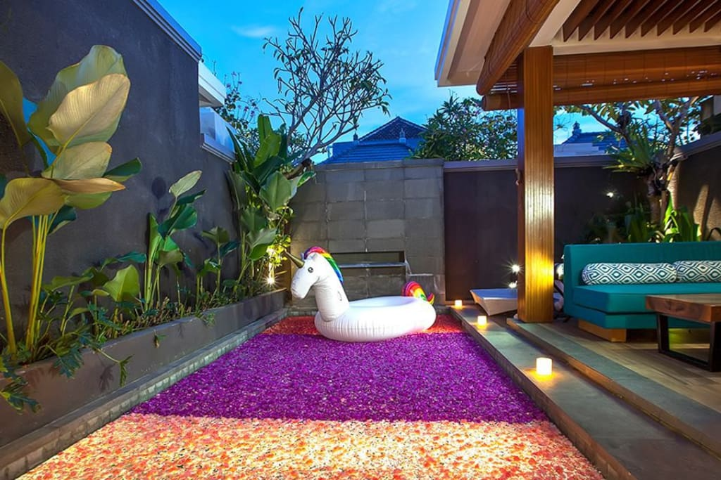 Private Pool (Romantic Decoration for Honeymoon Package)