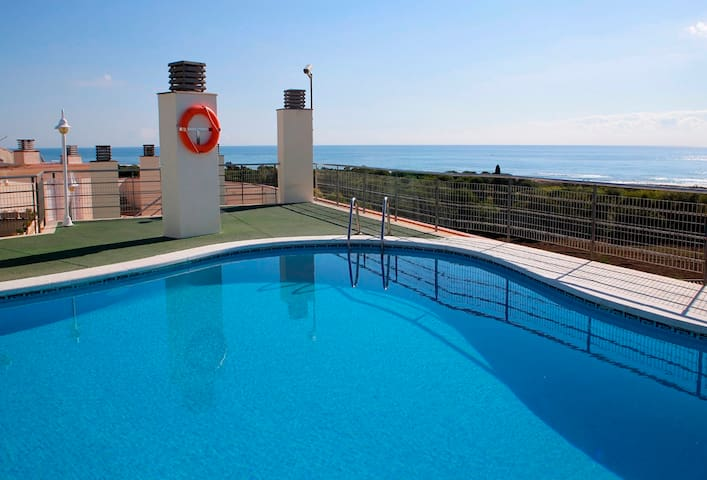 2 bedroom apartment 500 meters from the beach - Torredembarra - Apartemen