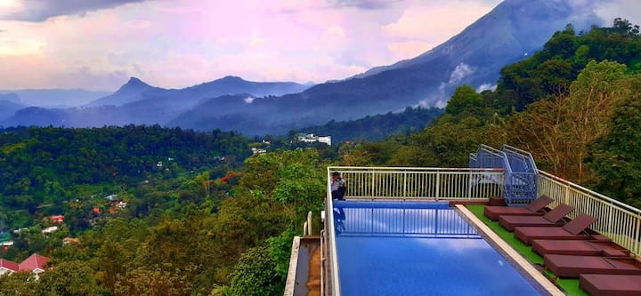 Swimming Pool Resort , Munnar