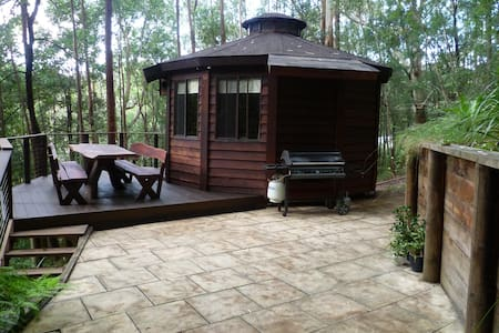 The Yurt - room in the rainforest