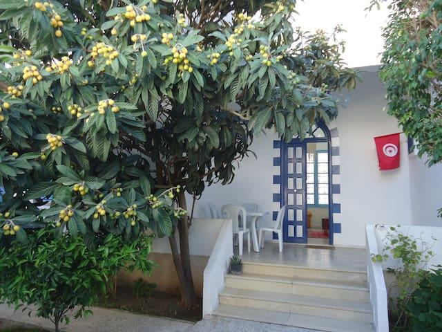 Jolie villa indépendante-La Marsa-Côte Nord Tunis