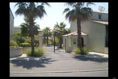 Maison dans résidence avec piscine - Valras-Plage - House
