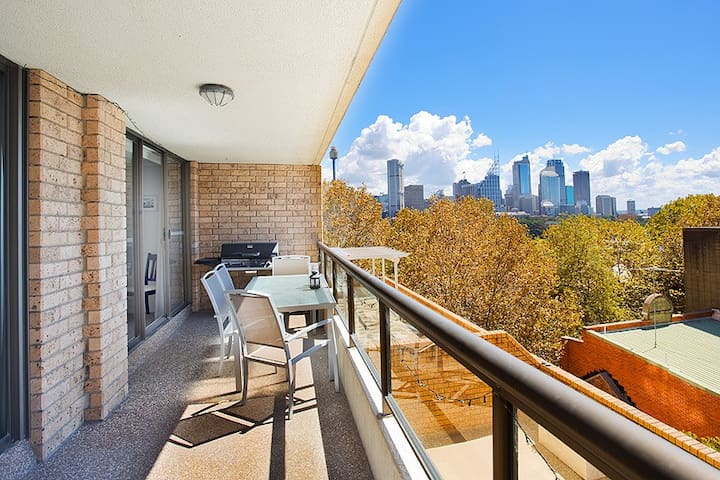 Fabulous 2-bed apt in Potts Point - Potts Point - Appartement