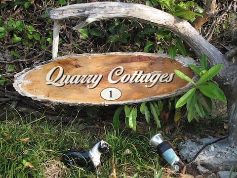 Quarry Cottages overlooking Flatts Village