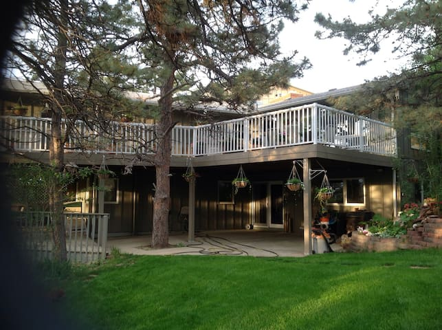 Mountain home, private, room & bath - Loveland - House