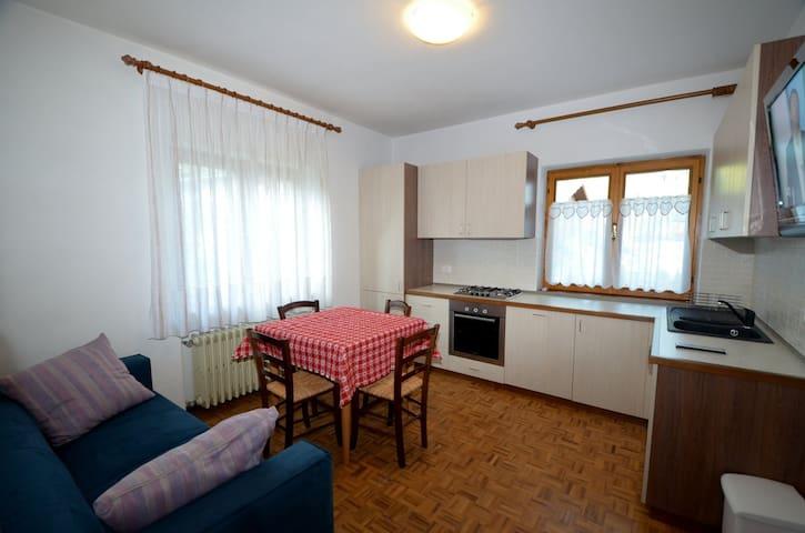 Appartamento con giardino vicino al lago - Auronzo di Cadore - Lejlighed