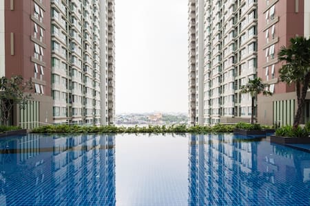 Chao Phraya River/Pool view 30m2 - Rama 3 Road - Apartment