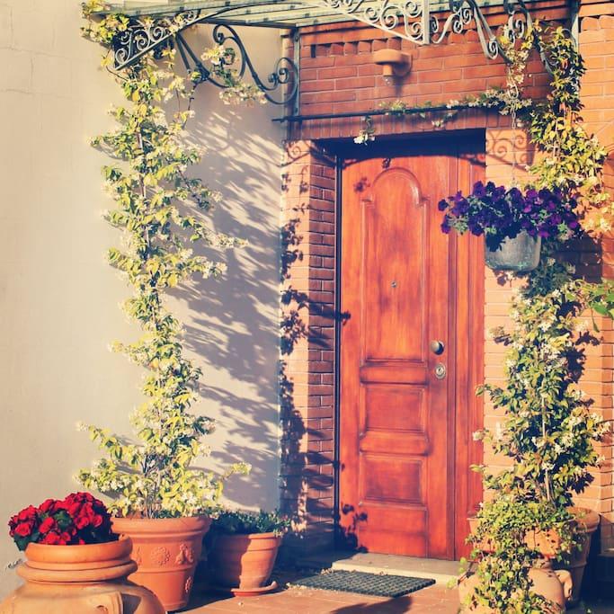 ingresso fiorito