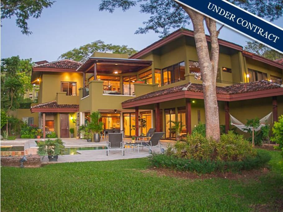 Villa gated ocean side golf resort case in affitto a for Case affitto costa rica