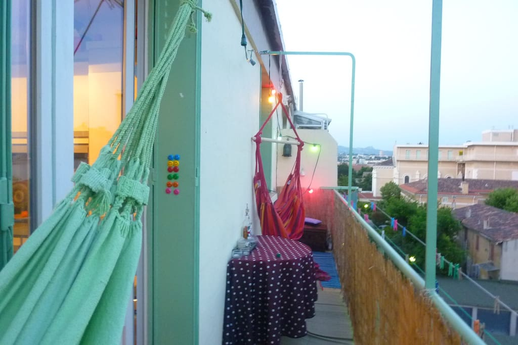 le grand balcon au calme