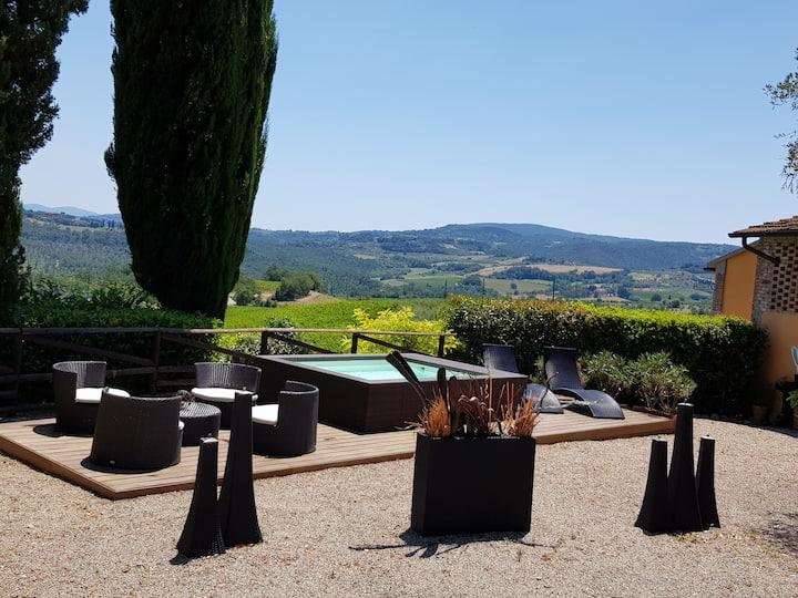 Il Leccio -  Tuscany home near San Gimignano
