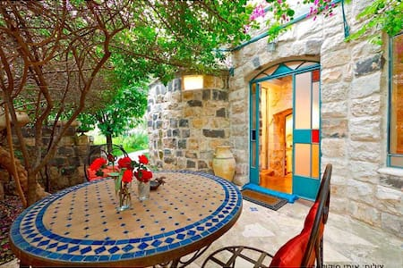 Authentic Galilee stone cottage   - Rosh Pinna - Wohnung