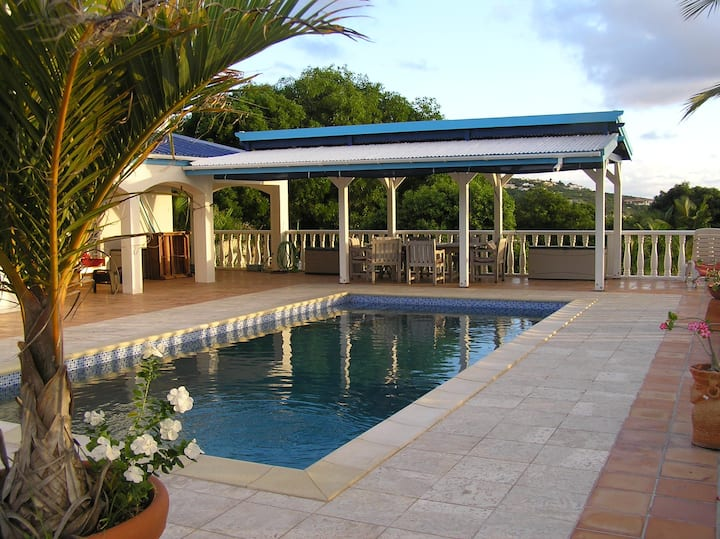 Ocean view villa guana bay