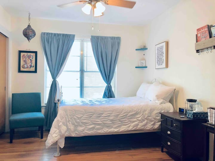 Cozy Private Room near 410/281, Airport & Downtown