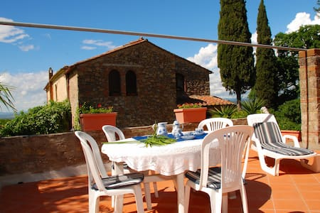 La Villa 7, 2-3 p. 10 km to the sea - Gavorrano