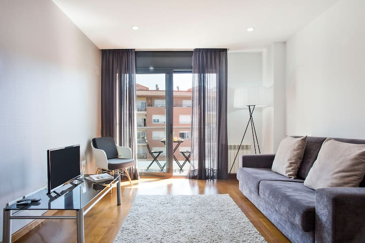 Attractive apartment with terrace in Les Corts