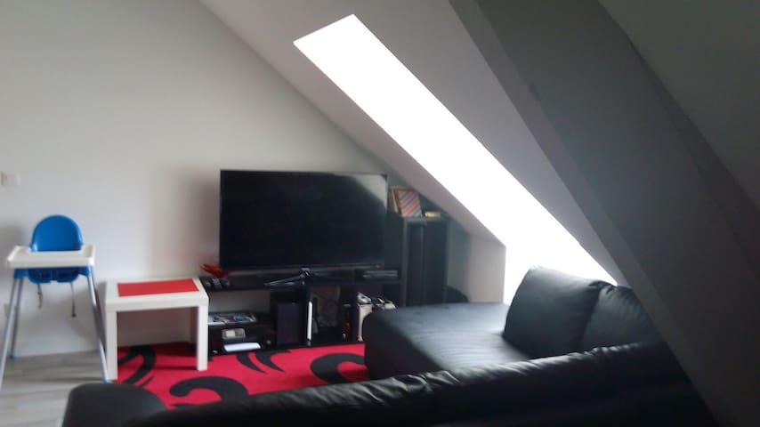 Cosy room in Meaux City Center next to Cathedral - Meaux - Apartemen