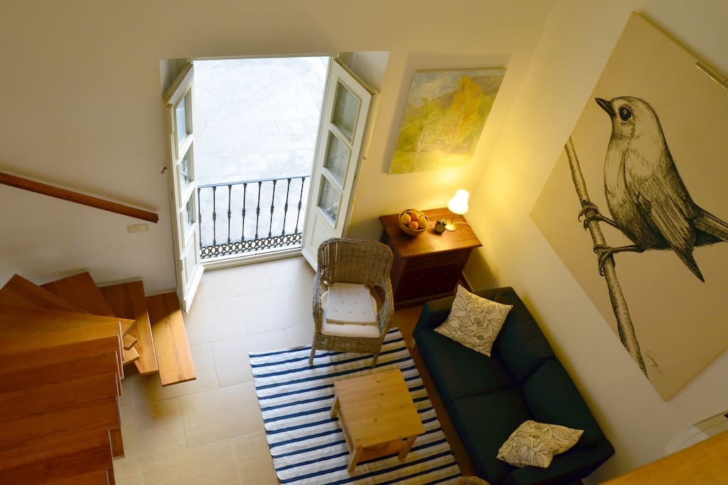 Duplex historical centre malaga condominiums for rent for Beds 4 u malaga