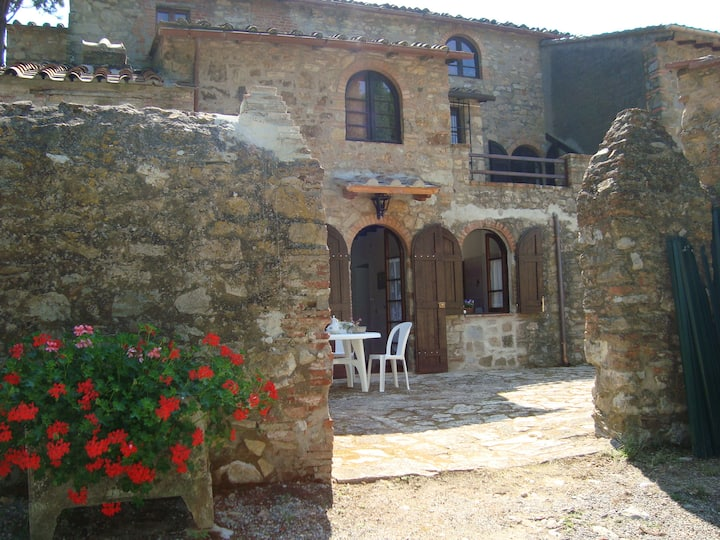 "La Villa, ""Viola"", 2 people, 10 km to the sea"
