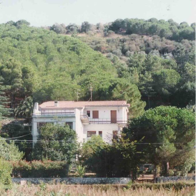 La villa e il suo parco