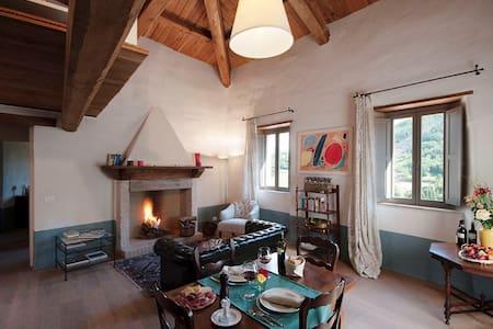 Medieval Hamlet, Apartment Campello - Postignano - Apartemen