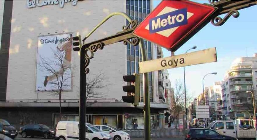 Habitación cómoda en centro de Madrid