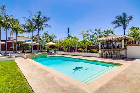 Resort Style Living with Pool, Spa, and Bay Views!