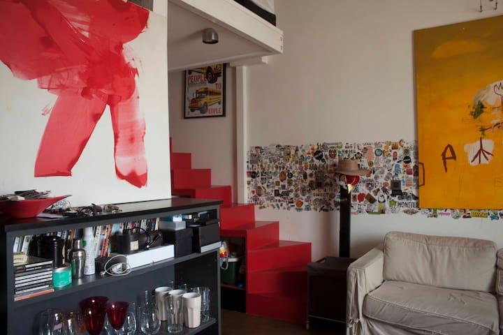 Beautiful apartment in Le Marais