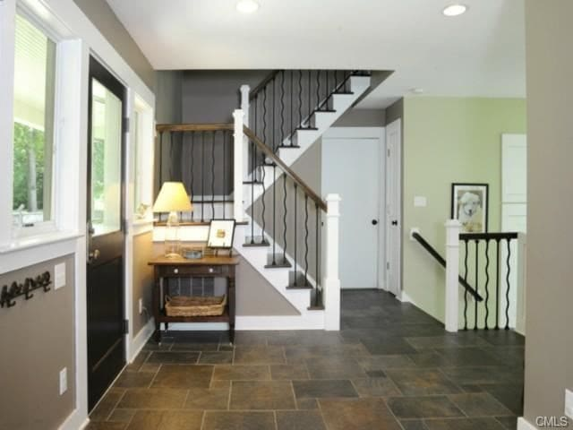 Front hall / entryway.