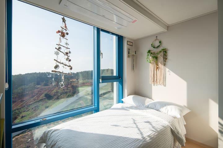 미소 House-바다전망 Ocean  View /중문 /제주한달살이/색달해변/서핑/힐링/
