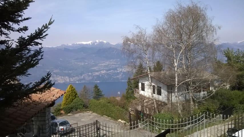 Lago di Garda- montagna e lago - Val di Fies - 公寓