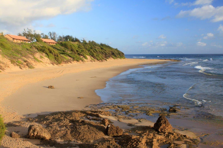 Right on the beach - Sleep 30 steps from the high tide mark...