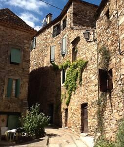 maison en pierre proche rivière - Roquebrun - House