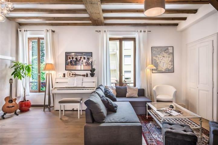 Charming duplex : Centre Annecy - Annecy - Huoneisto