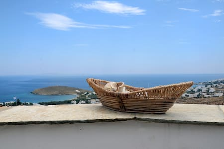 Tinos island  sea view - Haus