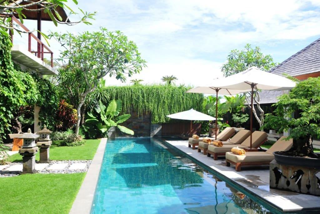 250mtr from beach - Villa Tenang - 4 Bedroom