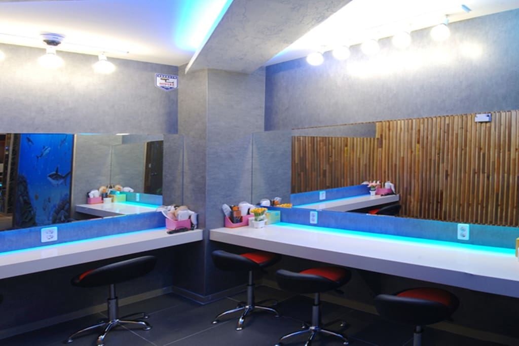 파우더룸 powder room