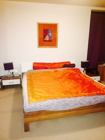 Bedroom in a House at only 3 km of Hanover Messe - Hannover - บ้าน