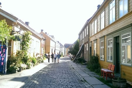 Bright flat in charming Bakklandet - Trondheim - Apartment